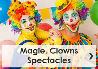 Magie, clowns, spectacles